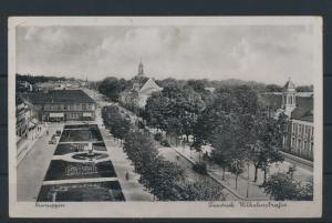 Ansichtskarte Neuruppin Friedrich Wilhelmstr. Feldpost Festenburg Schlesien