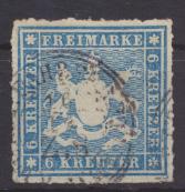 Altdeutschland Württemberg 32 a gestempelt Kat.-Wert 60,00