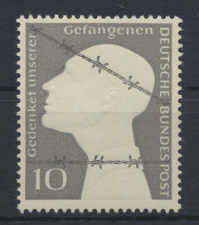 Bund Kriegsgefangene 165 Luxus postfrisch MNH Kat.-Wert 7,00 0