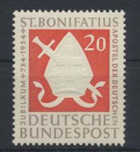 Bund Bonifatius Kirche Glauben Apostel 199 Luxus postfrisch MNH Kat.-Wert 9,00 0