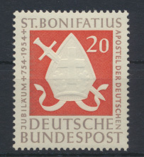 Bund Bonifatius Kirche Glauben Apostel 199 Luxus postfrisch MNH Kat.-Wert 9,00