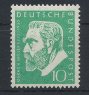 Bund Miller Museum 209 Luxus postfrisch MNH Kat.-Wert 6,00 0