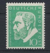 Bund Miller Museum 209 Luxus postfrisch MNH Kat.-Wert 6,00