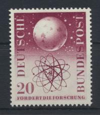Bund Weltall Weltraum Globus 214 Luxus postfrisch MNH Kat.-Wert 12,00