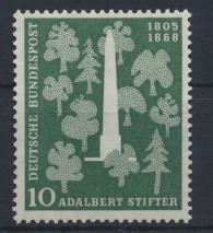 Bund Denkmal Adalbert Stifter 220 Luxus postfrisch MNH Kat.-Wert 4,50