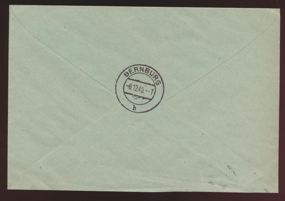 D. Reich R Brief Behring Krankheit 760-761 SST Marburg Universität nach Bernburg 1