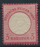 Deutsches Reich Brustschild 25 3 Kr ungebraucht Kat.-Wert 30,00