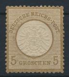 Deutsches Reich Brustschild 22 5 Groschen ungebraucht Kat.-Wert 40,00