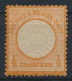 Deutsches Reich Brustschild 18 1/2 Groschen ungebraucht Kat.-Wert 50,00 0