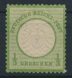 Deutsches Reich Brustschild 17 a 1/3 Groschen ungebraucht Kat.-Wert 45,00