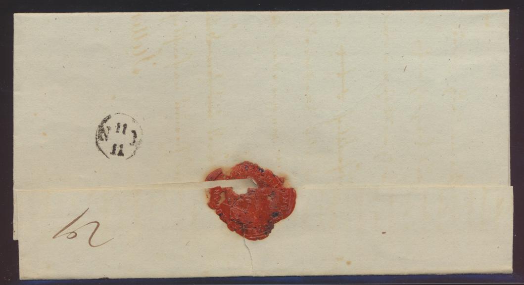 Altdeutschland Naugard Preussen Pommern Vorphila Brief nach Stettin  1