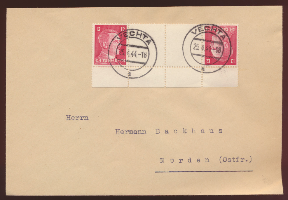 Deutsches Reich Zusammendruck Hitler KZ ab Vechta nach Norden Ostfriesland  0