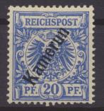 Deutsche Kolonien Kamerun 4 ungebraucht Kat.-Wert 7,00 0