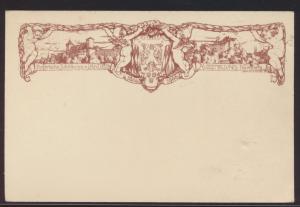 Bayern Privatganzsache Nürnberg Jugendstil Art Nouveau Landes Ausstellung