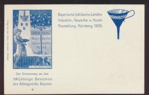 Bayern Privatganzsache König Ausstellung Nürnberg PP 15 C124 03