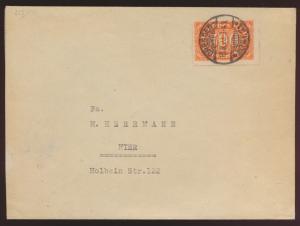 Reich Brief EF 223 Ziffer Ortsbrief Dresden Kat.-Wert 700,00