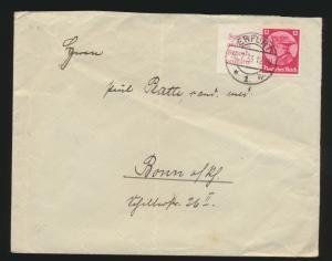 Deutsches Reich Zusammendruck Fridericus W 45 Erfurt Bonn 30.7.1933