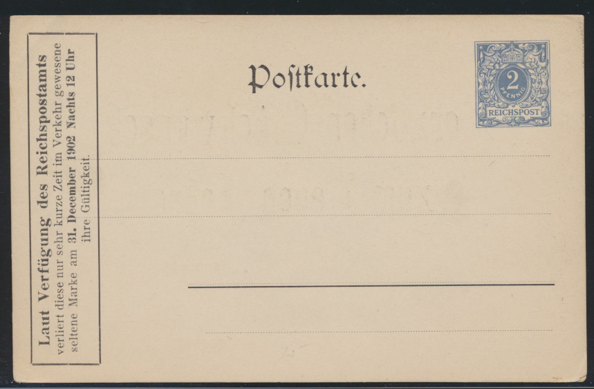 D. Reich Neujahr Privatganzsache PP 7C2101 Verlag Otto Seiffert Berlin Jägerstr. 1