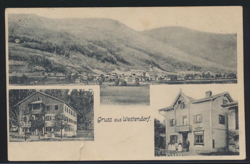 Österreich Westendorf Ansichtskarte Brixental Tirol 0