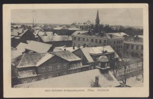 Miltaria Ansichtskarte Mitau Jelgava Stadt Lettland Kurland Ostgebiete Krieg