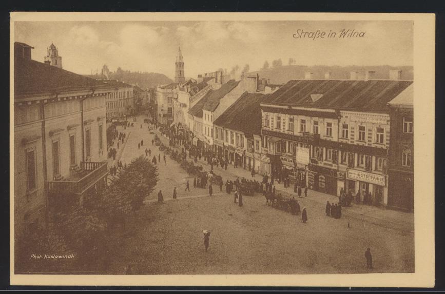 Foto Ansichtskarte Wilna Vilnius Photo Kühlewindh Litauen 0