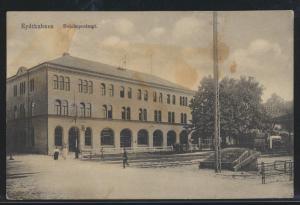 Foto Ansichtskarte Eydtkuhnen Eydtkau Reichspostamt Tschernyschewskoje Russland