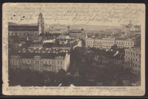 Foto Ansichtskarte Wilna vom Kriegsschauplatz Feldpost I Welkieg Drebach Sachsen