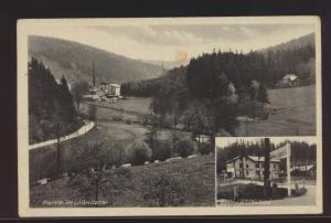 Foto Ansichtskarte Oederan Lößnitztal Gasthaus Sachsen