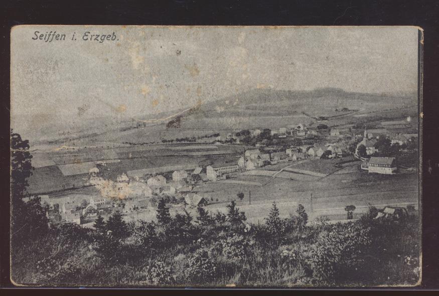 Foto Ansichtskarte Seiffen Erzgebirge Sachsen nach Klein Wilken 0