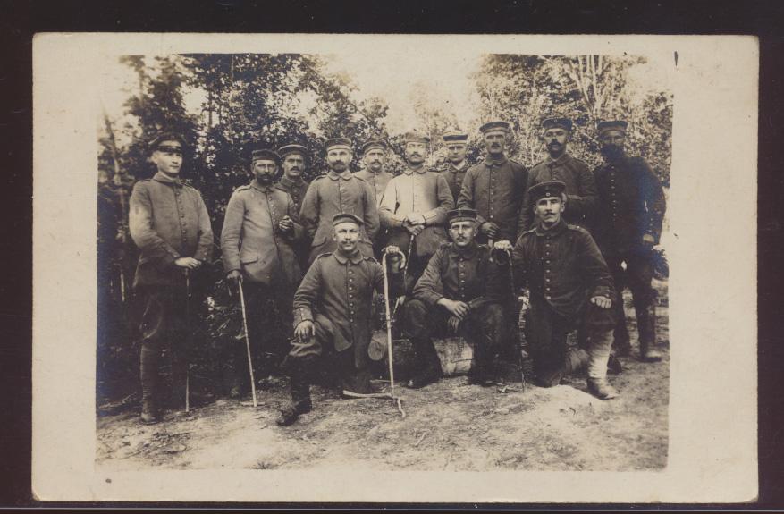 Militaria Foto Ansichtskarte Soldaten Feldpost Inf. Regiment 32 3 Kompanie  0