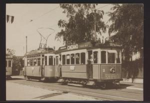 Eisenbahn Ansichtskarte Motorwagen 2 + 20 Nr. 1 Ce 2-2 1 und 2 Reklame Cincano