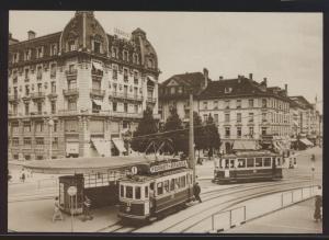 Eisenbahn Foto Ansichtskarte Tram Straßenbahn Motorwagen CE 2-2 12 + Ce 2-2 20