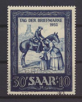 Saarland Briefmarkenausstellung IMOSA 316 Luxus gestempelt Kat.-Wert 35,00 0