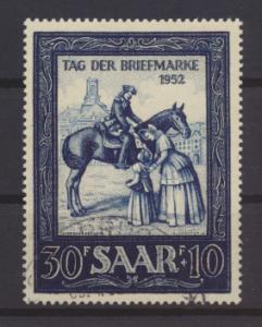 Saarland Briefmarkenausstellung IMOSA 316 Luxus gestempelt Kat.-Wert 35,00