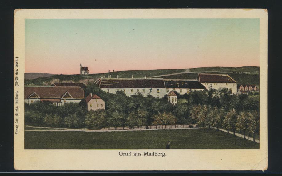 Ansichtskarte Mailberg Verlag Carl Matza Österreich  0