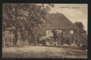 Ansichtskarte Kalkhorst Mecklenburg Gutshaus nach Hamburg 8.8.1930