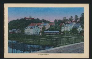 Ansichtskarte Scharfenstein Sachsen Lunakarte 18888 Verlag O. Schweiger Zschopau
