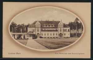Ansichtskarte Lindow Mark Genesungsheim Brandenburg Berlin Neukölln 17.8.1915