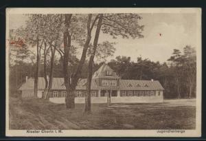 Ansichtskarte Kloster Chorin Mecklenburg Jugendherberge nach Berlin 25.6.1928