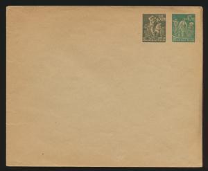 Deutsches Reich Privatganzsache Umschlag PU 89 A 1 Arbeiter