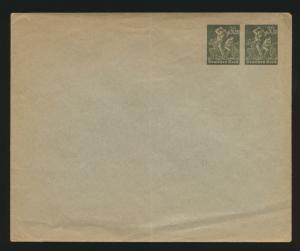 Deutsches Reich Privatganzsache Umschlag PU 88 A 1 Arbeiter