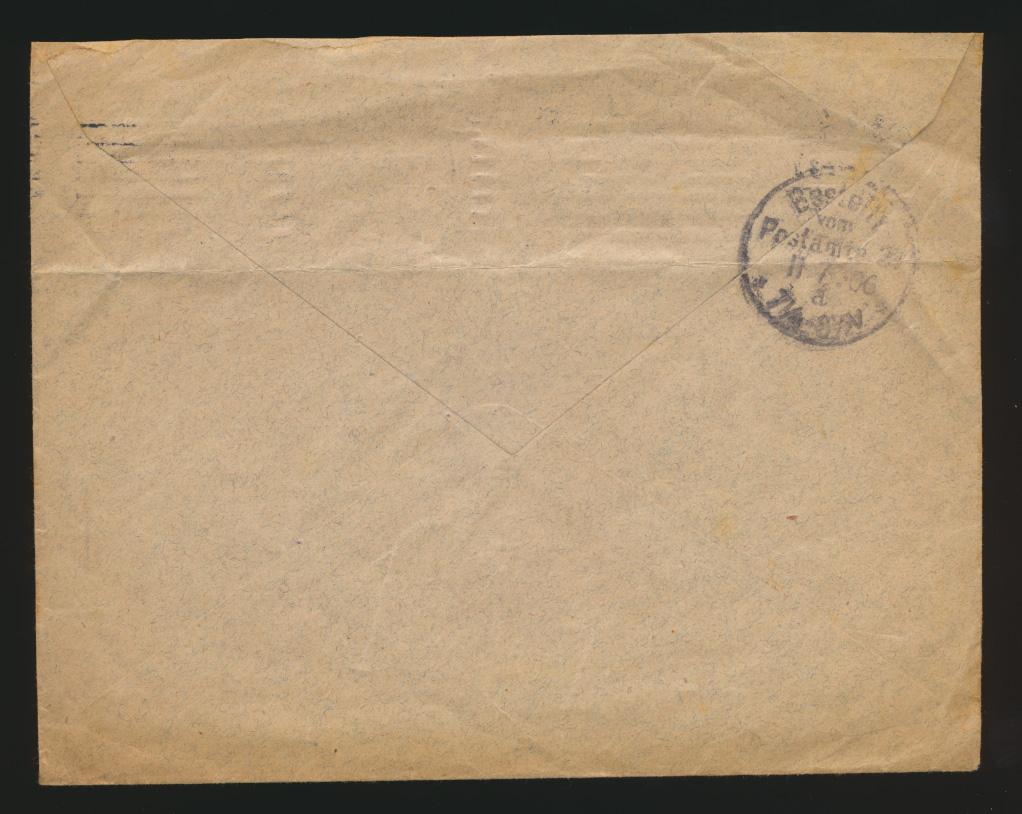 Deutsches Reich Privatganzsache Umschlag PU 27 B 43 jedoch 161:127 U=72 mm 1