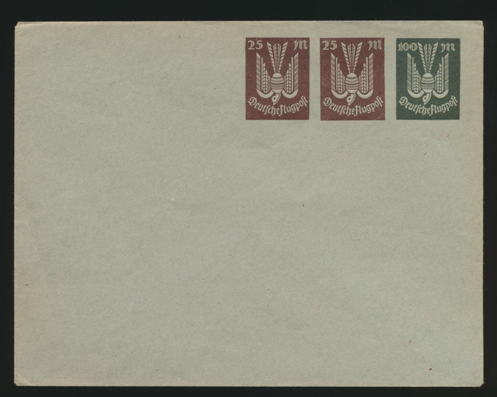 Deutsches Reich Privatganzsache Umschlag PU 95 A 2 Holztaube 0