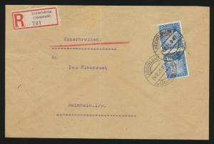 Reich R Brief MEF 374 Rheinland ab Reichelsheim nach Reinheim