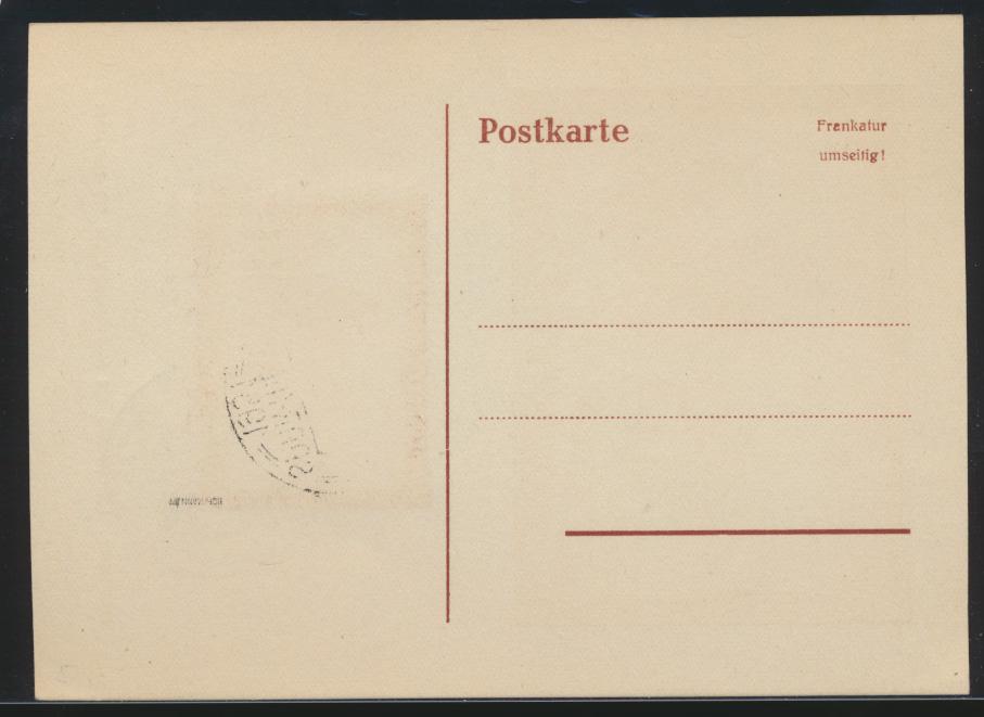 Saarland Brief 305 T.d. Briefmarke Postreiter schöne Anlaßkarte Maximumkarte FDC 1
