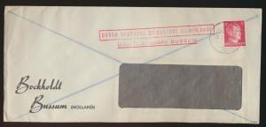 Besetzung Deutsche Dienstpost Niederlande über Dienstpoststelle Bussum