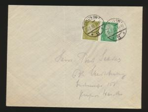 Reich R Brief Zusammendruck Reichspräsidenten W 28 Berlin Kat.-Wert 50,00
