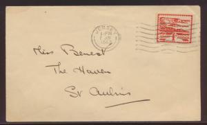 Besetzung 2. Weltkrieg Kanalinsel Jersey Brief EF 1d
