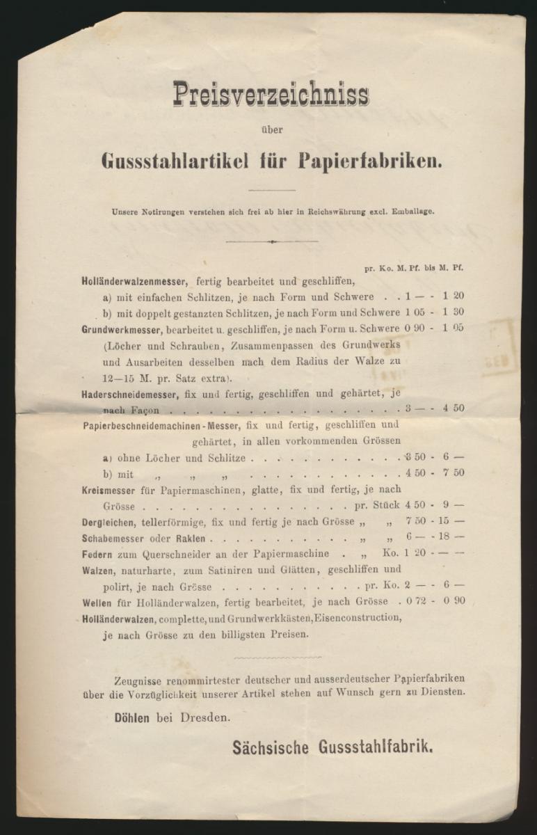 Reich Brief EF 5 Pfennige R 3 Hainsberg Deuben Sachsen 4seitge Preisliste Döhlen 2