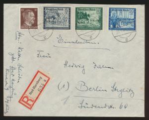 Deutsches Reich R Brief Kameradschaftsblock Bad Harzburg nach Berlin